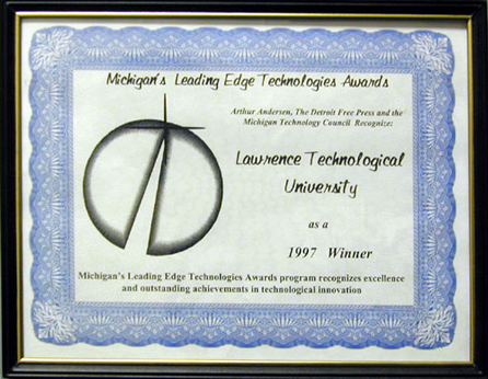 Nabil Grace 1997 Leading Edge Award