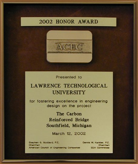 Nabil Grace 2002 Honor Award