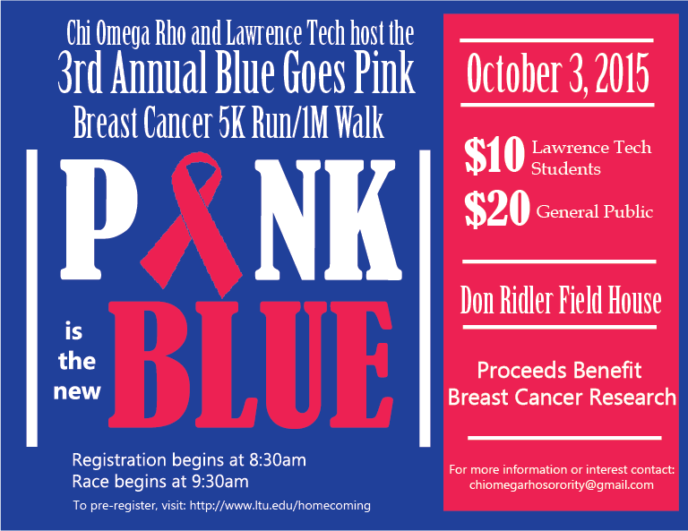 3rd Annual Blue Goes Pink